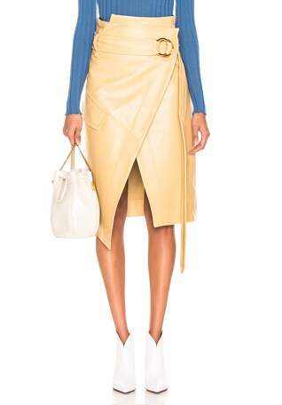 Leather Rita Skirt