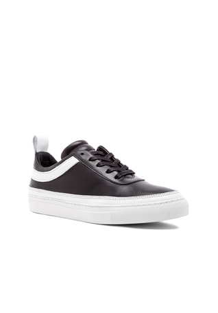 Delcon Leather Low Tops
