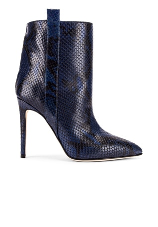 Snake Print Ankle Boot