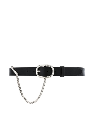 30MM Boyfriend Belt With Chain