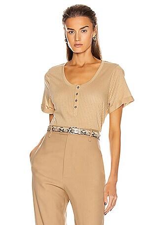 Scoop Henley Shirt