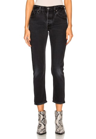 Levi's High Rise Ankle Crop
