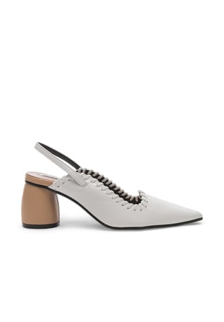 Curved Middle Slingback
