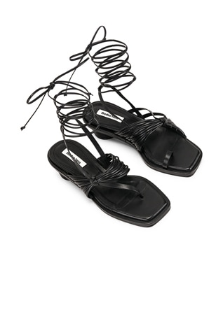 Unbalanced String Sandal