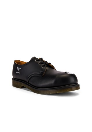 x Dr. Martens Asymmetric Cut Out Steel Shoe