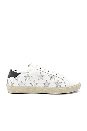 Star Leather Low Top Sneakers