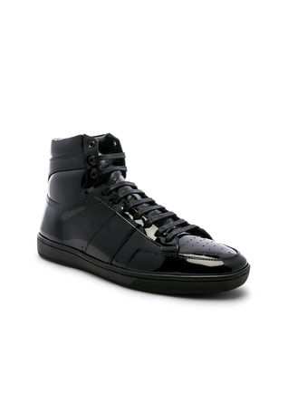 Signature Court Classic SL/10H Leather Hi-Top Sneaker