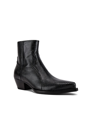 Lukas Zipped Lizard Boot