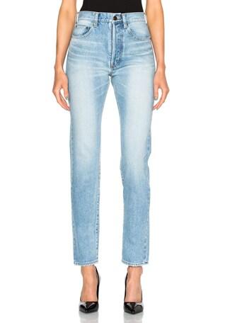 80s Carrot 5 Pocket Jeans
