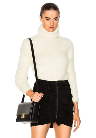 Mohair Turtleneck Sweater