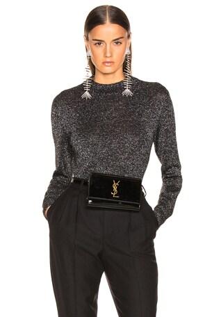 Lurex Crewneck Sweater