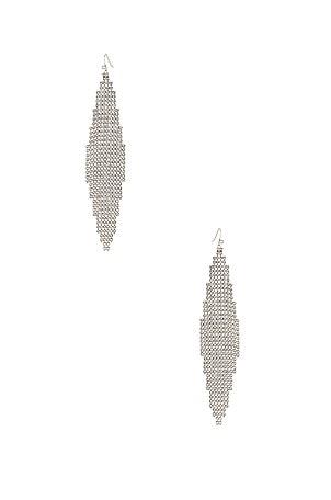 Mesh Chandelier Earrings