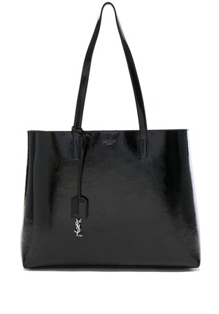 Patent Leather East West Shopping Bag