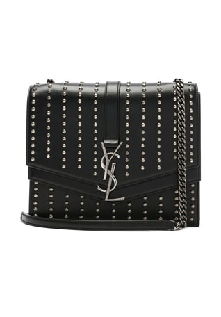 Medium Studded Monogramme Sulpice Chain Bag