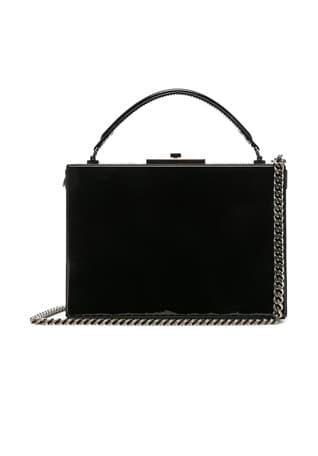 Nan Leather Box Bag
