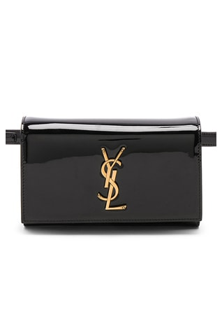 Patent Monogramme Kate Hip Belt with Pouch