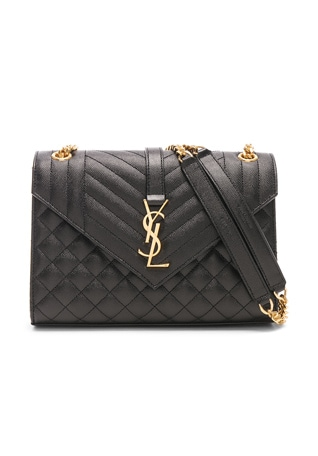 Medium Monogramme Envelope Chain Bag
