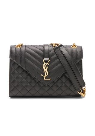 Medium Monogramme Envelope Chain Bag