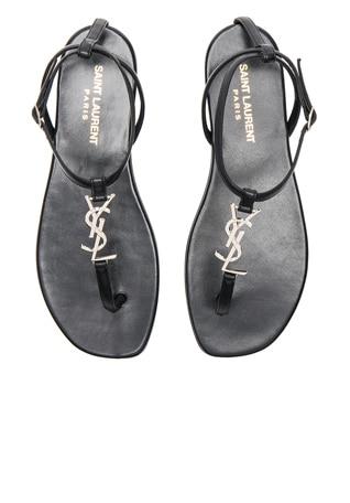 Leather Nu Pieds Sandals