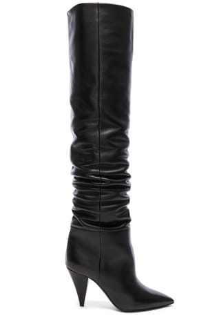 Leather Era Thigh High Boots