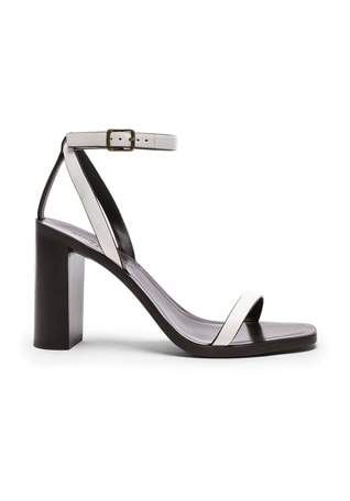 Leather Loulou Ankle Strap Sandals