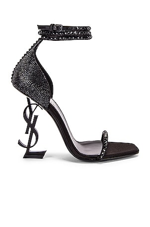 Swarovski Opyum Double Ankle Strap Sandals