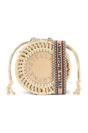 Mini Drawstring Shoulder Bag