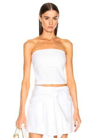 Structured Strapless Top