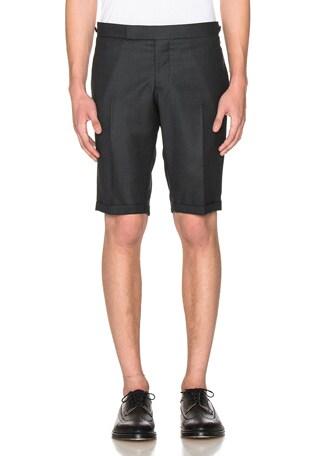 Birdseye Suiting Shorts