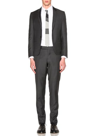 High Armhole Twill Suit