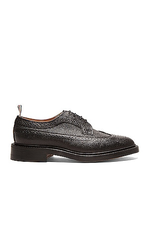 Classic Long Leather Wingtips
