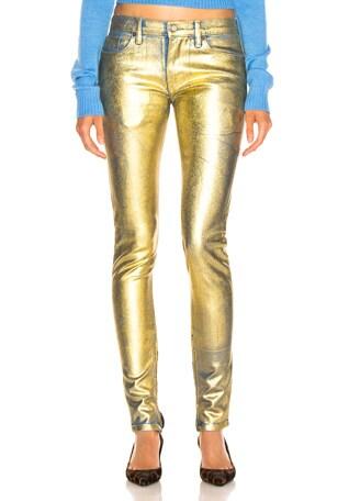 Gold Edith Pants