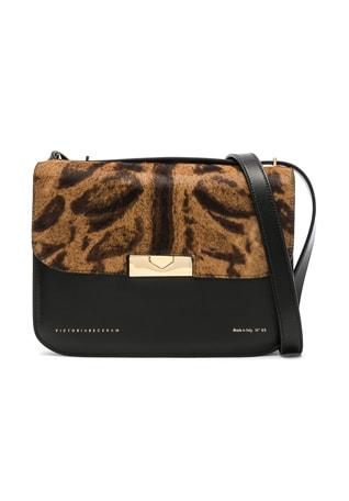 Leather & Calf Hair Eva Bag