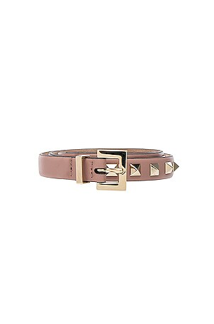 Rockstud Leather Belt