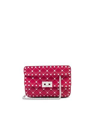 Small Rockstud Spike Shoulder Bag