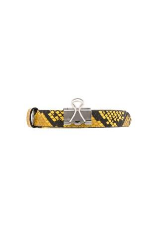 Thin Python Paper Clip Belt