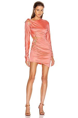 Cocktail Cutout Mini Dress