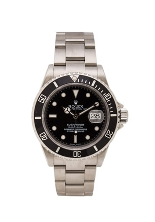 Stainless Submariner Black Dial