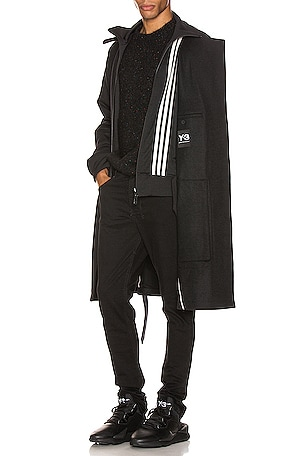 3 Stripe Reversible Layered Track Coat