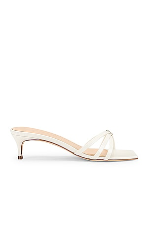 Libra Patent Leather Sandal