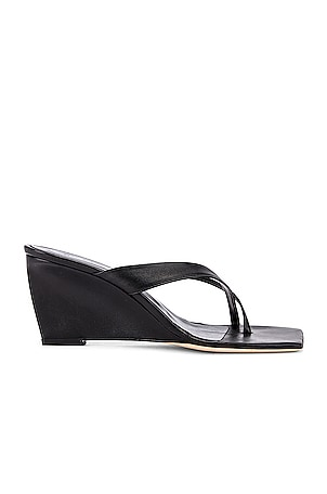 Theresa Leather Wedge