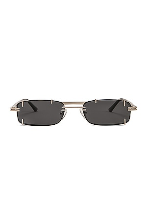 Pronged Rectangular Sunglasses