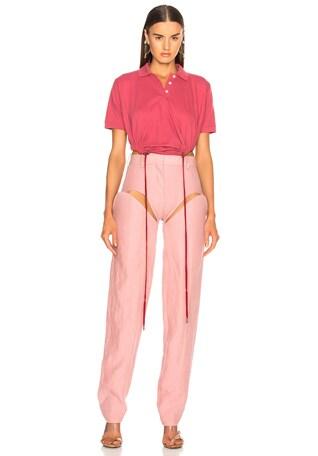 Polo Shirt Bodysuit