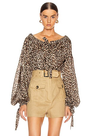 Suraya Silk Pocket Blouse