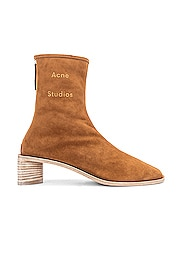 Logo Suede Boot