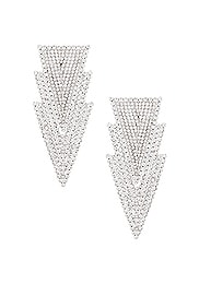 Three Triangle Earrings