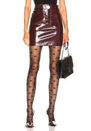 High Waisted Snap Skirt