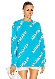Long Sleeve Logo Sweater