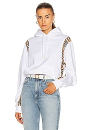 Fairhall Check Panel Sweatshirt