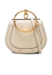 Small Nile Bracelet Bag Calfskin & Suede